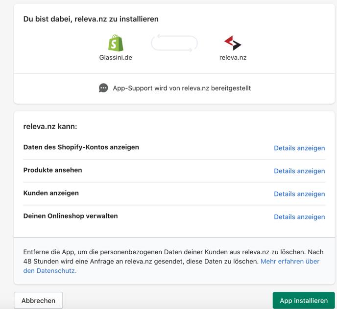 Shopify_App_installieren